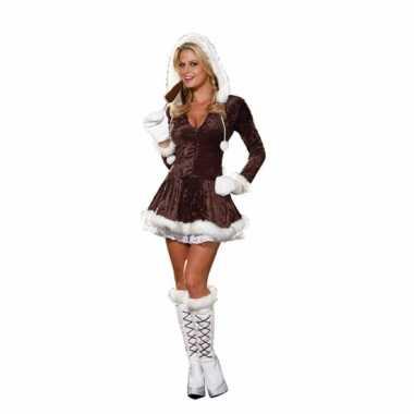 8e8c306da85c86 Eskimo kerstjurk voor dames