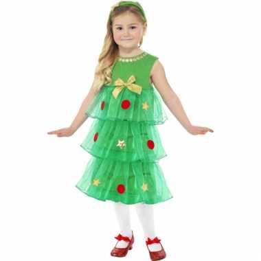 Kerstboom jurk voor meisjes