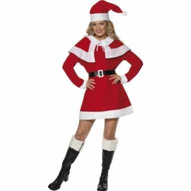 Kerstjurk dames rood