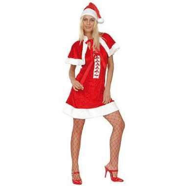 Kerstvrouw jurk luxe