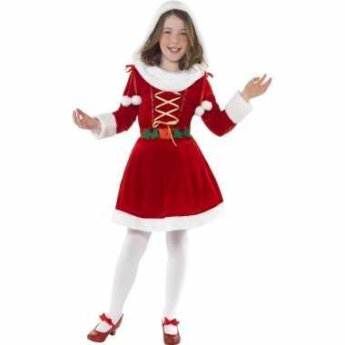 Santa kerstjurk voor meisjes