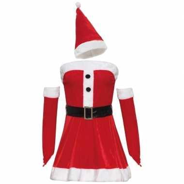 Sexy kerstvrouw jurk voor dames